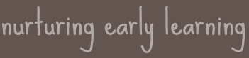 nurturing early learning